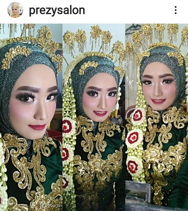 Prezy Salon Ahlinya Rias Pengantin Hijab Adat Jawa