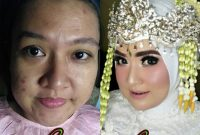 Makeup Natural Pengantin Berhijab Prezy Salon